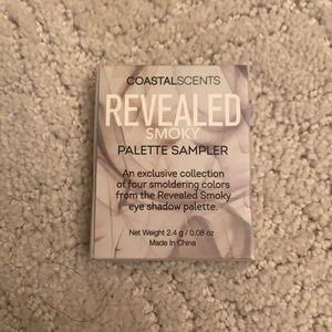 5/$20 Coastal Scents Revealed Smoky Palette Sample